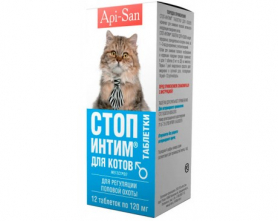 Стоп-интим (коты) табл 12шт фото