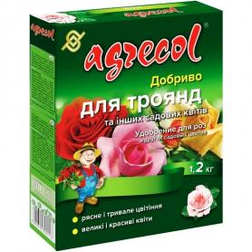 Комплексное минеральное удобрение для роз Agrecol (Агрекол), 1.2кг, NPK 16.14.16, 30211 фото