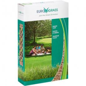 Газонная трава теневая Euro Grass ПЕ-пак, 2.5кг, Deutsche Saatveredelung (Германия) фото