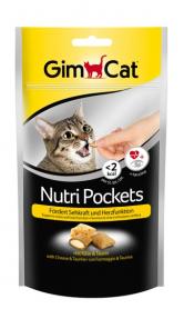 Гимкет Нутри Покетс для кошек Сыр и Таурин 60 г фото