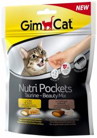 Гимкет Нутри Покетс для кошек таурин и бьюти микс 150 г фото
