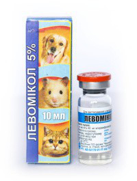 Левамикол ушные капли  для собак и котов 10 мл фото