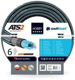 Поливочный шланг HOBBY ATS 19мм (3/4'), 25м, Cellfast, 16-220 фото
