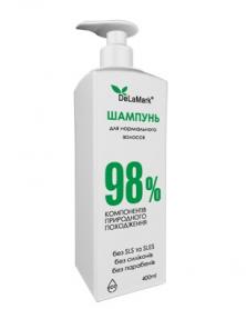 Шампунь для волос ТМ 'ДеЛаМарк' для нормальных волос, 400мл фото