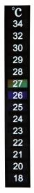 8600 Термометр самоклейка фото
