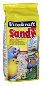 Наполнитель для клеток птиц, песок Санди, 2,5 кг, 11007 фото
