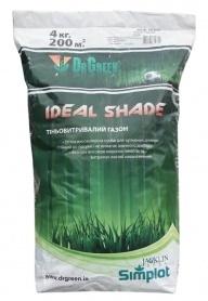 Газонная трава теневыносливая Ideal Shade, 4кг, TM Dr. Green, Simplot (Канада) фото