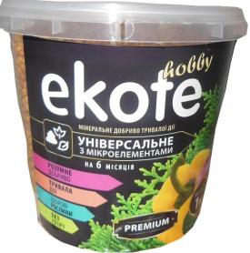 Комплексное минеральное универсальное удобрение  Premium, 6м, 1кг, Ekote фото