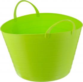 Корзина мягкая, ярко-зеленая, 17л, 2880 фото