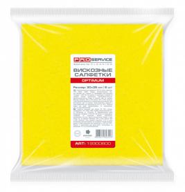 Салфетки для уборки вискозные, 30х35см, 5шт, PRO service, 19300600 фото