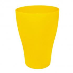 Стакан 0,25 ТМ Алеана (темно-желтый), 1453 фото