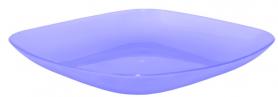 Тарелка 190*190*28 ТМ Алеана, 0,5л (фиолетово-прозрачный), 2165 фото