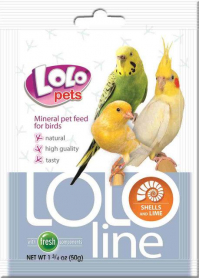 LO-72043 'Lolopets' Lololine кальций+ракушки для птиц 10 гр фото