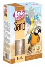 LO-72081 'Lolopets' песок с ракушками д/птиц 1500 гр фото