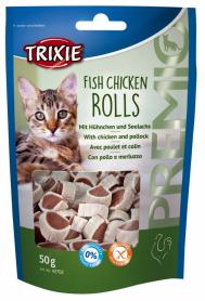 42702 Лакомство для кошек Premio Rolls курица/сайда 50 гр фото