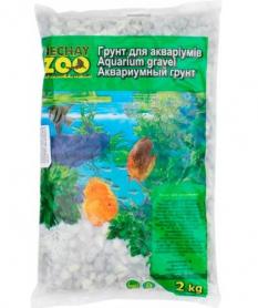 Грунт аквариумный белый средний 5-10 мм 2 кг фото