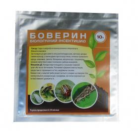 Биоинсектицид Боверин, 10г фото