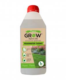 Органическое удобрение ТМ Grow, реаниматор газона, 1л фото