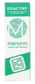 Пластырь первой медицинской помощи Манорм, на нетканой основе, 19х72мм, 10шт фото