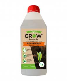 Органическое удобрение ТМ Grow, восстановитель плодородия почвы, 1л фото