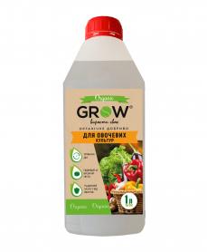 Органическое удобрение ТМ Grow, для овощных культур, 1л фото