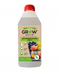 Органическое удобрение ТМ Grow, для плодово-ягодных культур, 1л фото