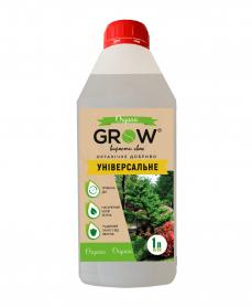 Органическое удобрение ТМ Grow, универсальное, 1л фото