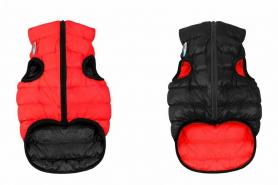 1700 Курточка д/собак AiryVest двухсторонняя, размер XS 22, красно-черная  фото