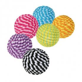 4570 Игрушка д/котов Трикси мячик-спираль яркий 4,5 см  фото