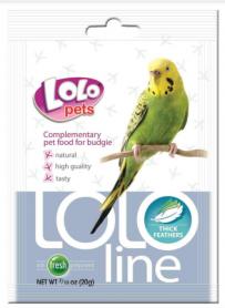 LO-72142 Lolopets Lololine густые перья д/волнистых попугаев 20 гр фото