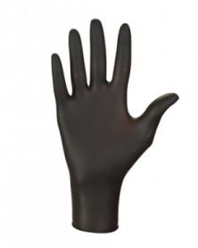 Перчатки нитриловые NITRYLEX BLACK, черные, L, пара фото