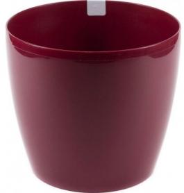 Кашпо Магнолия, D135, бордовый, пластик, LA201-28 фото