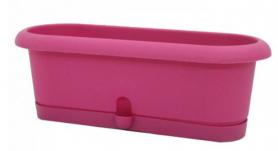 Горшок для кактусов 'Лотос-40' 5 л пурпурный, 0181-043 фото