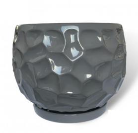 Горшок Куля параметрическая, 4л, серый, Р263 фото