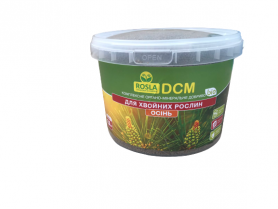 Органо-минеральное удобрение для хвойных растений, NPK 6.3.20, 2.5кг, ДСМ(DCM) Осень, ТМ Росла фото