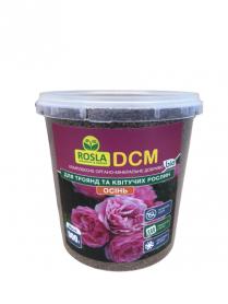 Органо-минеральное удобрение для роз и цветущих , NPK 6.3.20, 900г,  ДСМ(DCM) Осень, ТМ Росла фото