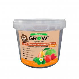 Органическое удобрение для плодово-ягодных культур ТМ Grow (Multimix bio), 1кг, Осень фото