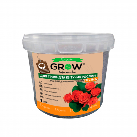 Органическое удобрение для роз и цветущих растений ТМ Grow (Multimix bio), 1кг, Осень фото