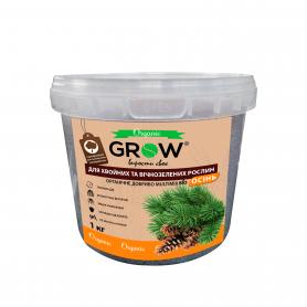 Органическое удобрение для хвойных и вечнозеленных культур ТМ Grow (Multimix bio), 1кг, Осень фото