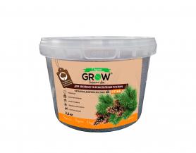 Органическое удобрение для хвойных и вечнозеленных культур ТМ Grow (Multimix bio), 2.5кг, Осень фото