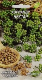 Семена кориандра Нектар, 3г, Семена Украины фото