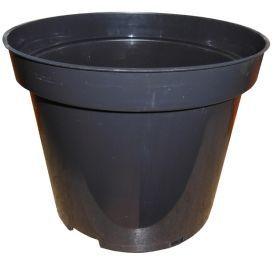 Горшок для рассады, DoS19, 3л, 190x150, черный фото