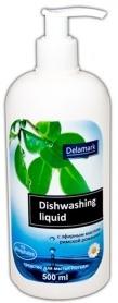Бесфосфатное средство для мытья посуды, римская ромашка, 0.5л, Royal Powder фото