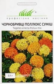 Семена бархатцев Поллюкс смесь, 0.1г, Hem, Голландия, Професійне насіння фото