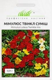 Семена мимулюса Туинкл смесь, 0.01г, Hem, Голландия, Професійне насіння фото