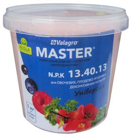 Комплексное минеральное удобрение Master (Мастер), 1кг, NPK 13.40.13, TM ROSLA (Росла) фото