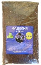 Семена фацелии Алина, 0.5кг, TM ROSLA (Росла) фото