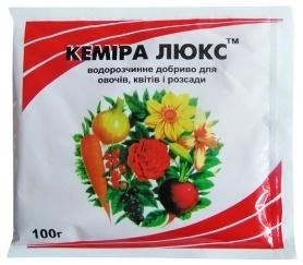 Комплексное минеральное удобрение Кемира Люкс, 100г, NPK 14.11.25 фото