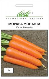 Семена моркови Монанта, 1г, Rijk Zwaan, Голландия, Професійне насіння фото