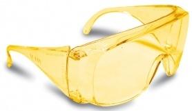Очки защитные Wide, бурштин, Truper, LEN-SA фото